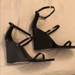 Forever 21 Strappy Wedge Sandals, sz 7.5